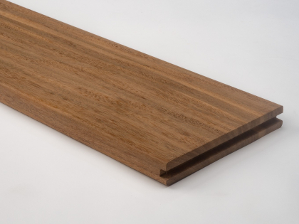 Four sides planed - Rounded edges tongue & groove